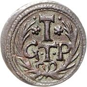 1½ Pfennig - Johann Adolph – reverse