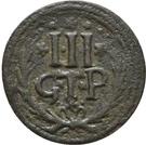 3 Pfennig - Johann Adolph – reverse