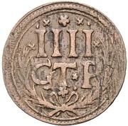 4 Pfennig - Johann Adolph – reverse
