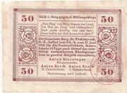 50 Heller (Berg) – reverse