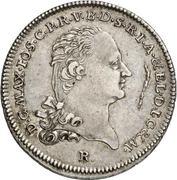 ½ Thaler - Maximilian Joseph IV. – obverse