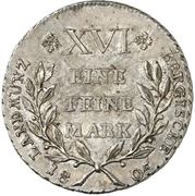 1 Thaler - Maximilian Joseph IV. – reverse