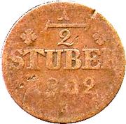 ½ Stuber - Maximilian IV Joseph – reverse
