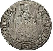 1 Weisspfennig - Adolph IX. – obverse