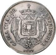 1 Thaler - Joachim Murat (Cassataler) – reverse