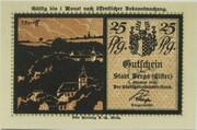 25 Pfennig (Silhouette Series) – obverse