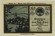 50 Pfennig (Silhouette Series) – obverse