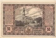50 Heller (Bergheim) – obverse