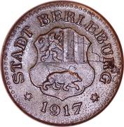 10 Pfennig - Berleburg – obverse