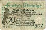 50 Pfennig (Berlin) – obverse
