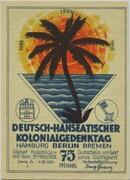 75 Pfennig (Berlin; Deutsch-Hanseatischer Kolonialgedenktag - A1: Deutsch-Südwestafrika) – obverse