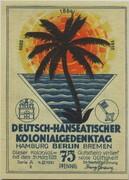 75 Pfennig (Berlin; Deutsch-Hanseatischer Kolonialgedenktag - A2: Deutsche Südseeinseln) – obverse