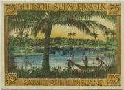 75 Pfennig (Berlin; Deutsch-Hanseatischer Kolonialgedenktag - A2: Deutsche Südseeinseln) – reverse