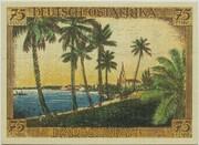 75 Pfennig (Berlin; Deutsch-Hanseatischer Kolonialgedenktag - A5: Deutsch-Ostafrika) – reverse