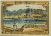 75 Pfennig (Berlin; Deutsch-Hanseatischer Kolonialgedenktag - A6: Kamerun) – reverse