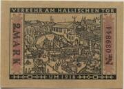 2 Mark (Straßenbahn Berlin; Issue 10 - Verkehr am Hallischen Tor) – reverse