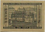 2 Mark (Straßenbahn Berlin; Issue 6 - Berliner Straßenlokomotive) – reverse