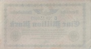 1 000 000 Mark (Berlin; Deutsche Reichsbahn) – reverse