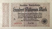 100,000,000 Mark (Berlin; Deutsche Reichsbahn) – obverse