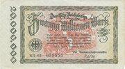 20,000,000 Mark (Berlin; Deutsche Reichsbahn) – obverse