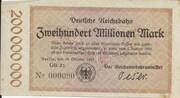 200,000,000 Mark (Berlin; Deutsche Reichsbahn) – obverse