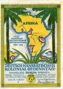 75 Pfennig (Berlin; Deutsch-Hanseatischer Kolonialgedenktag - B3: Carl Peters) – obverse