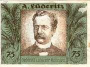 75 Pfennig (Berlin; Deutsch-Hanseatischer Kolonialgedenktag - B4: A. Lüderitz) – reverse