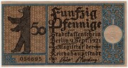 50 Pfennig (Berlin; Districts Series - Issue 6: Kreuzberg) – obverse
