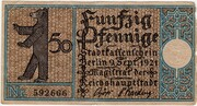 50 Pfennig (Berlin; Districts Series - Issue 16: Köpenick) – obverse
