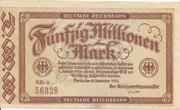 50,000,000 Mark (Berlin; Deutsche Reichsbahn) – obverse