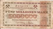 5,000,000 Mark (Ostelbisches Braunkohlensyndikat) – obverse