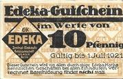 10 Pfennig (EDEKA) -  obverse
