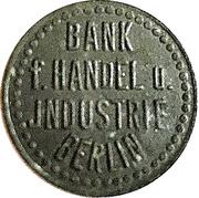 1 Pfennig - Berlin (Bank f. Handel u. Industrie) – obverse