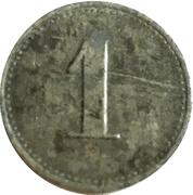 1 Pfennig - Berlin (Bank f. Handel u. Industrie) – reverse