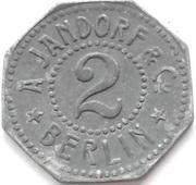 2 Pfennig - Berlin (A. Jandorf & Co.) – obverse