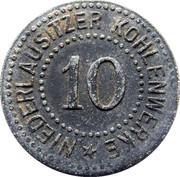 10 Pfennig - Berlin (Niederlausitzer Kohlenwerke) – obverse
