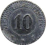 10 Pfennig - Berlin (Niederlausitzer Kohlenwerke) – reverse