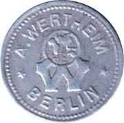 1 Pfennig - Berlin (A. Wertheim) – obverse