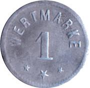 1 Pfennig - Berlin (A. Wertheim) – reverse