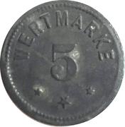 5 Pfennig - Berlin (A. Wertheim) – reverse