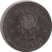 10 Pfennig - Berlin (A. Wertheim) – obverse