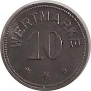 10 Pfennig - Berlin (A. Wertheim) – reverse