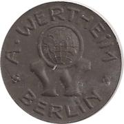 50 Pfennig - Berlin (A. Wertheim) – obverse