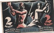 2 Mark (Berlin; Liga zum Schutze der Deutschen Kultur) – reverse