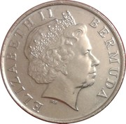 25 Cents - Elizabeth II (4th portrait) -  obverse