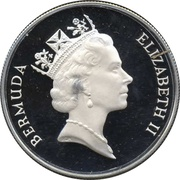 1 Dollar - Elizabeth II (WWF; Silver Proof Issue) -  obverse