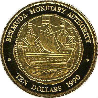Ship $50 1//2 oz Gold NGC PF70 ULTRA CAMEO Bermuda 1990 Hogge Money