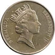 25 Cents - Elizabeth II (3rd portrait) -  obverse