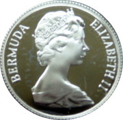 25 Cents - Elizabeth II (Hamilton Parish; Silver Proof Issue) – obverse
