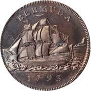 1 Penny -  George III – reverse